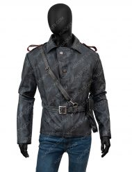 Battlefield 5 video Game Peter Muller leather brown Jacket
