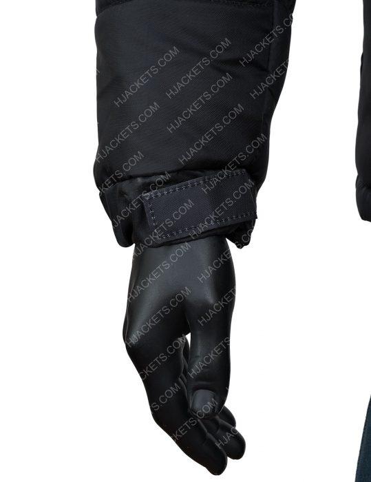 Naruto Puffer Black Jacket