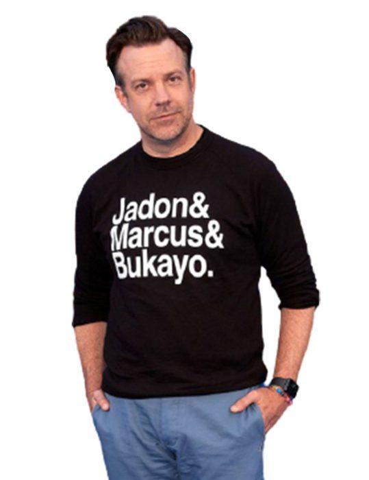 Ted-Lasso-Jason-Sudeikis-black-Sweatshirt