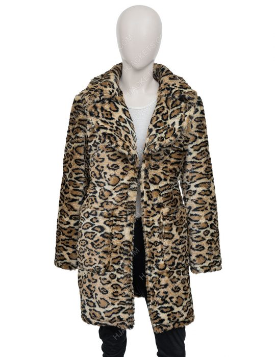 Afterlife of the Party Cassie Leopard Coat
