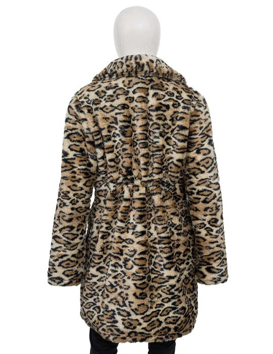 Afterlife of the Party Cassie Leopard Print Coat