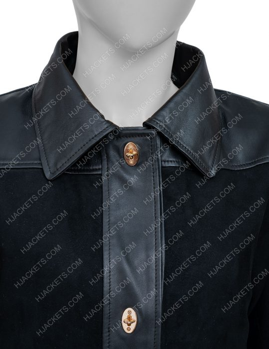 Annalise Keating How to Get Away With Murder Black Leather Coat