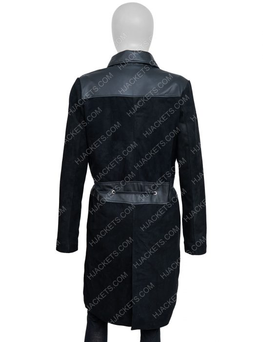 Annalise Keating How to Get Away With Murder Leather Leather Coat