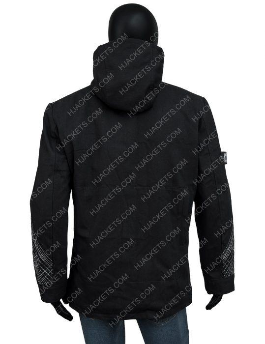 Destiny 2 Black Hooded Jacket