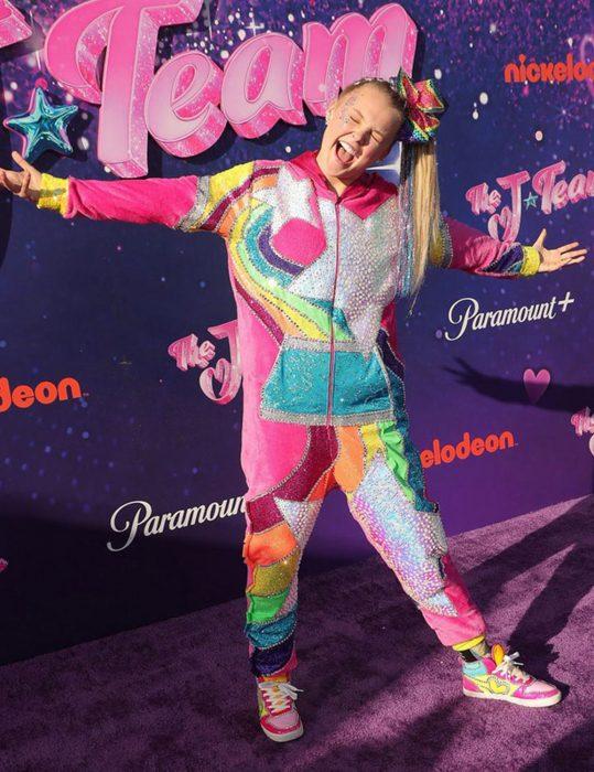 Jojo Siwa The J Team 2021 Multi color Jumpsuit