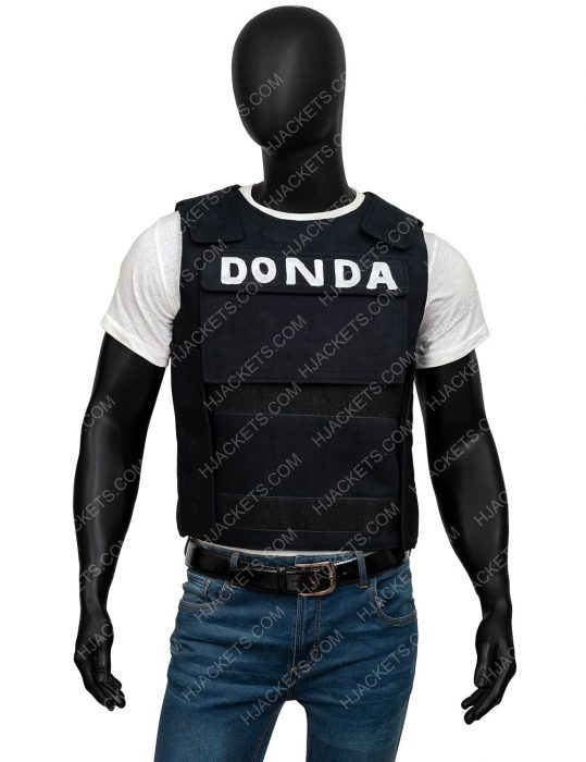 Kanye Donda Black Vest