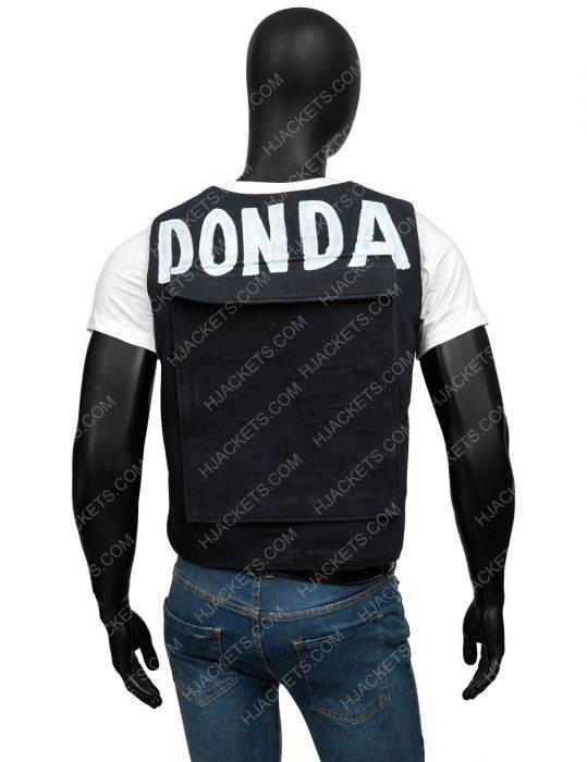 Kanye Yeezy Donda Black Vest