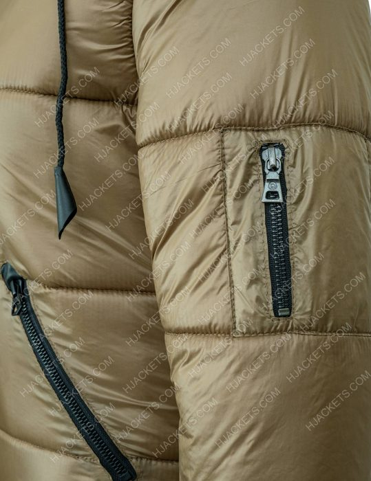 Keeley's Puffer Ted Lasso Jacket