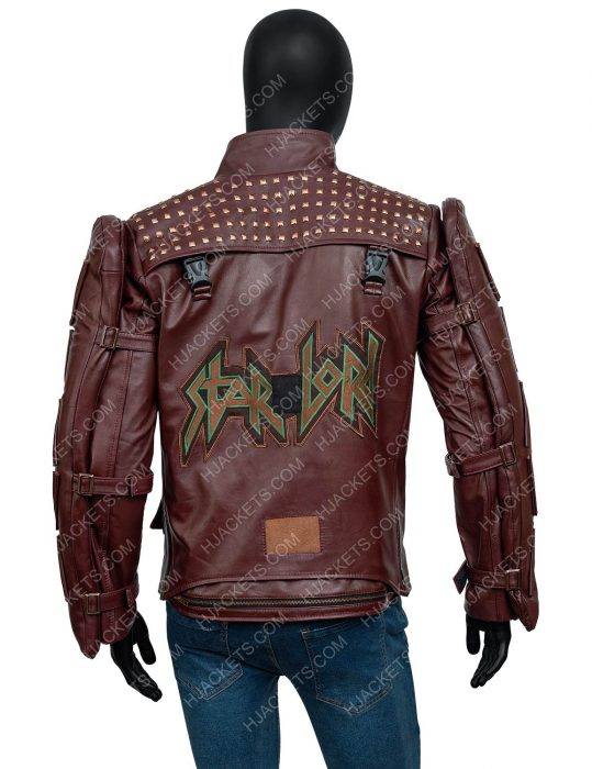 Marvel's Guardians Of The Galaxy 2021 Leather Jacket