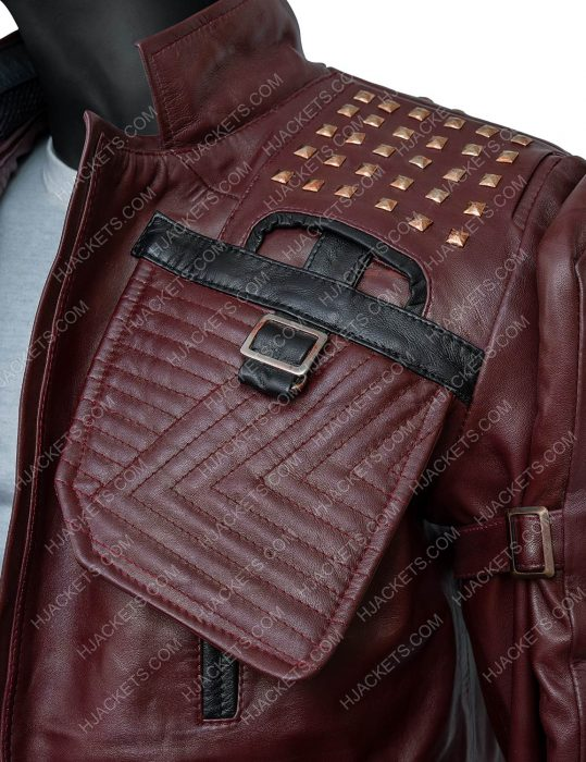 Marvel's Guardians Of The Galaxy 2021 Star Lord Leather Jacket