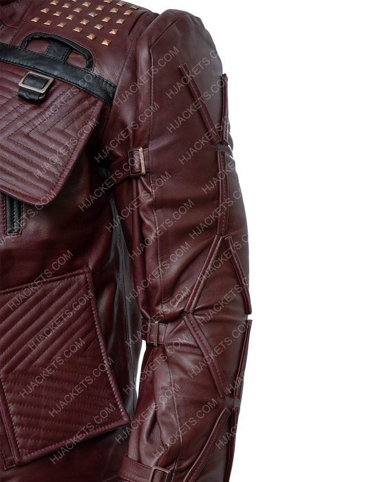 Marvel's Guardians Of The Galaxy Star Lord Leather Jacket