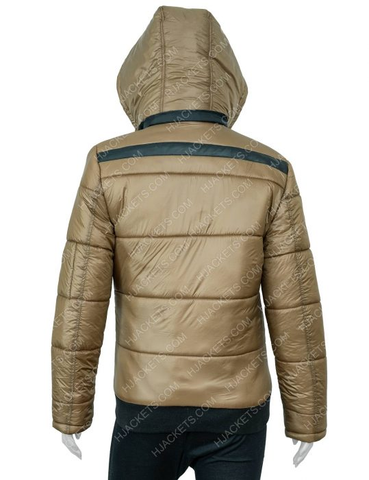 Puffer Ted Lasso Keeley's Jacket