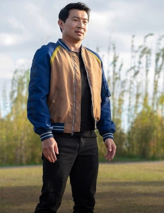 Shang-Chi and the Legend of the Ten Rings Simu Liu Varisty Jacket