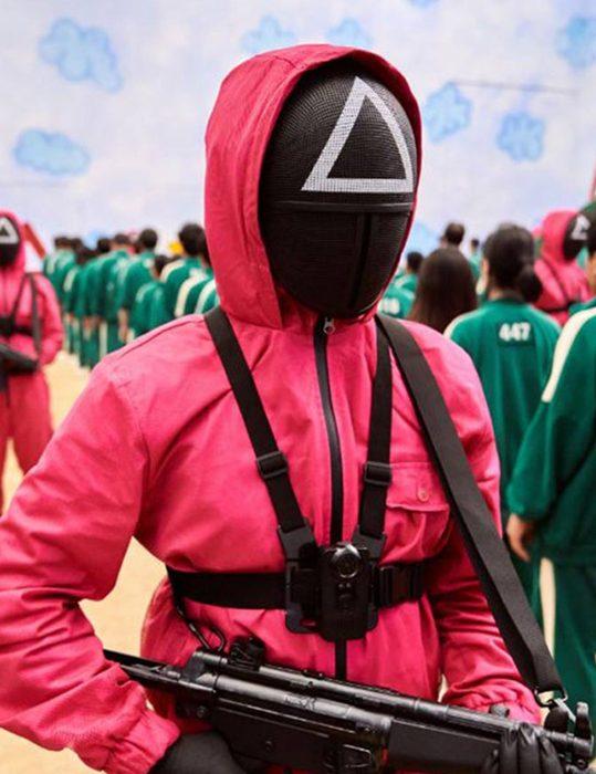 Squid Game 2021 Guard Jumpsuit
