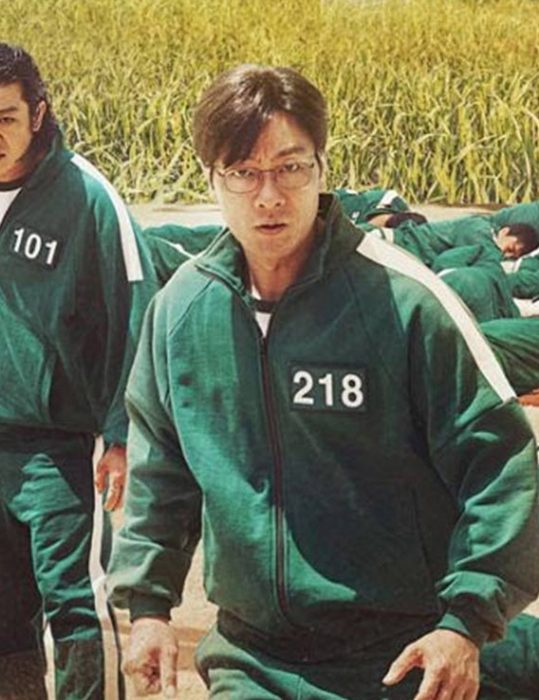 Squid Game Bomber Green Jacket