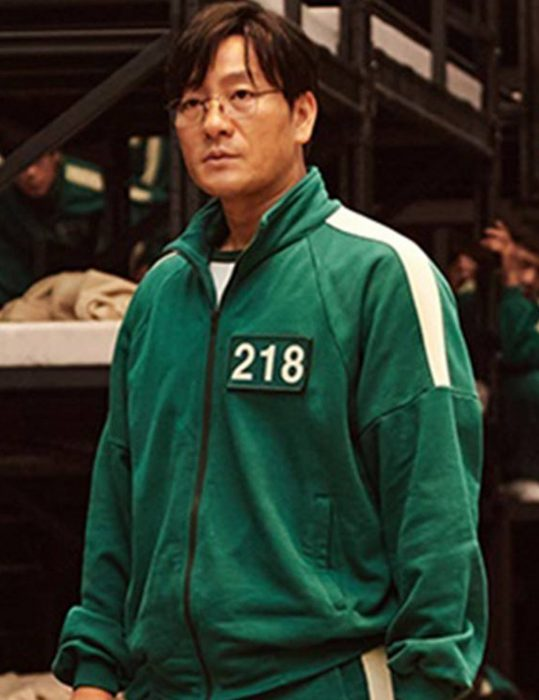 Squid Game Green Bomber Jacket