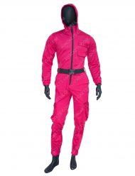 Squid Game Tv Series 2021 Guard Pink Jumpsuit