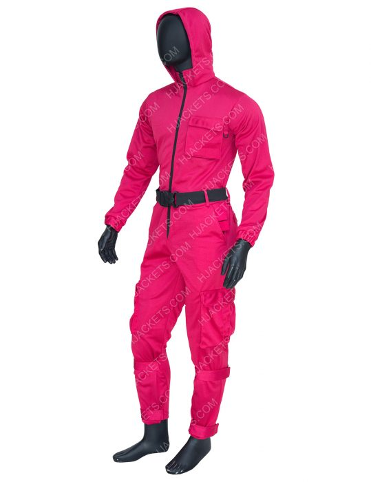 Squid Game Tv Series 2021 Pink Jumpsuit