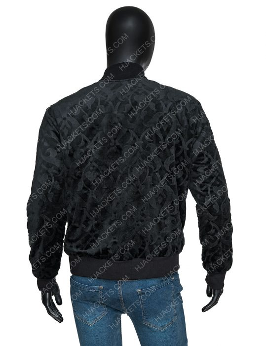 Uncut Gems Adam Sandler Bomber Black Jacket