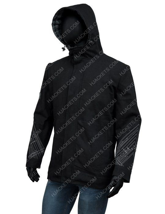 Vault of Glass Hooded Black Jacket