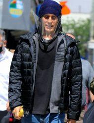 WeCrashed-Jared-Leto-Black-Puffer-Jacket