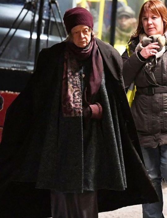 A Boy Called Christmas 2021 Maggie Smith Cloak Coat