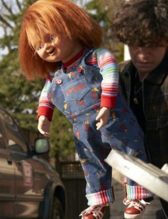 Chucky 2021 Doll Blue Jumpsuit