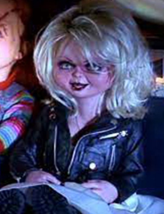 Chucky 2021 Tiffany Valentine Doll Black Jacket