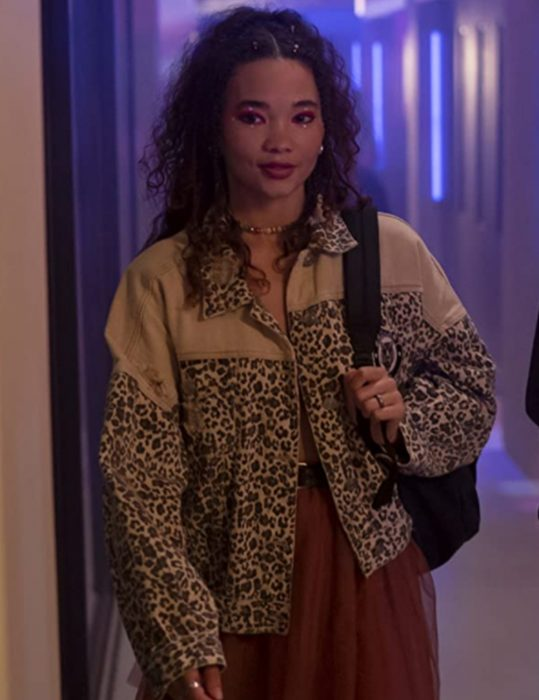 I Know What You Did Last Summer 2021 Ashley Moore Leopard Print Jacket