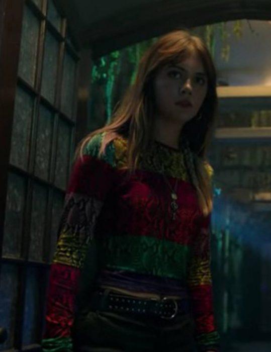 Kinsey Locke TV-Series Locke & Key S02 Emilia Jones Color-Block Shirt