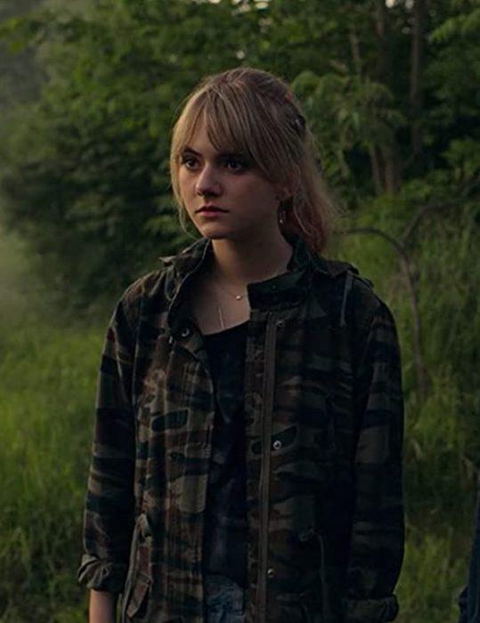 Locke & Key S02 Emilia Jones Military Jacket