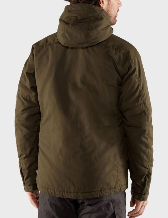 Maid 2021 Raymond Ablack Brown Hooded Jacket