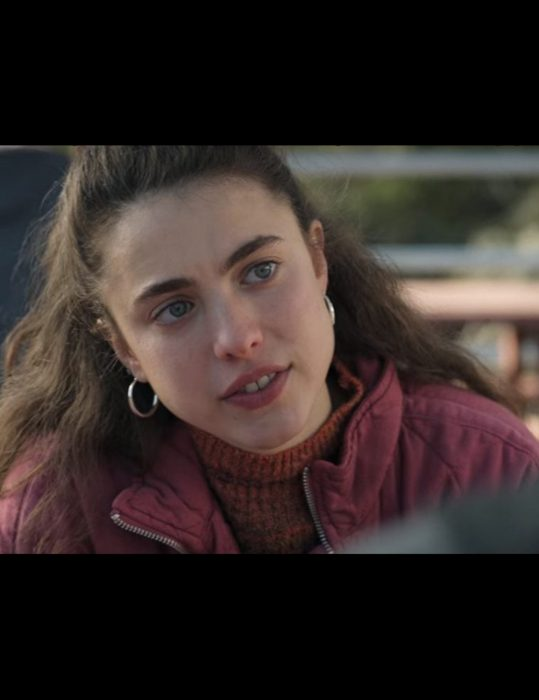 Maid Margaret Qualley Pink Quilted Jacket