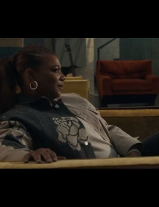 The Equalizer S02 Queen Latifah Two-Color Floral Jacket