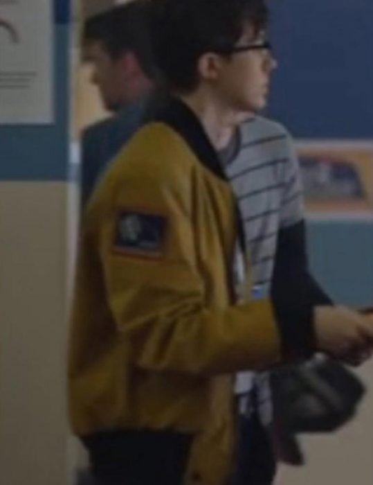 There's Someone Inside Your House Jesse LaTourette Nasa Jacket