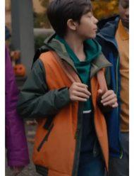 Under Wraps 2021 Malachi Barton Orange Jacket