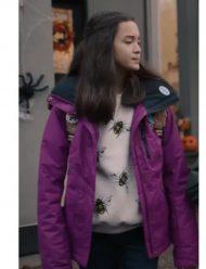 Under Wraps 2021 Sophia Hammons Purple Jacket
